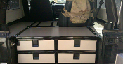 Expedition Ready Custom 4 Drawer System