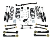 "3"" TJ Lift Kit with 8 Lower Flex arms and trackbar 9550 shocks"