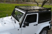 JEEP WRANGLER JK - 2 DOOR  SLIMLINE II FULL RACK / EXTREME
