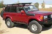 Toyota Land Cruiser 80 Roof Rack (Full Cargo Rack - Tall)
