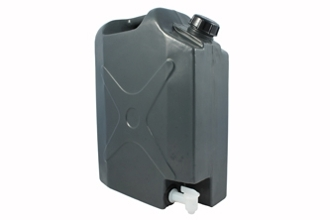 PLASTIC JERRY CAN WITH TAP