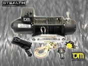 TJM 9000lb Stealth Series Winch