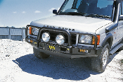 TJM Land Rover Discovery 2 Deluxe Bull Bar Steel