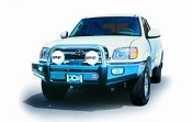 Toyota Tundra Sahara Bar Winch Bumper in Grey Powder Coat