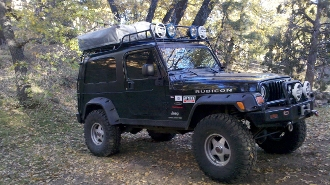 Jeep Lj Expedition Rack