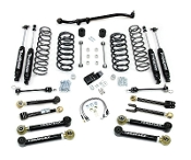 "4"" TJ Lift Kit with 8 Flex arms and trackbar 9550 shocks"
