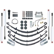 YJ 4.0 Inch Standard Leaf Spring Lift Kit with Twin Tube Shocks
