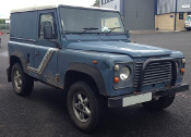 Land Rover Defender 90 Hard Top Turbo Diesel (1989) SOLD.