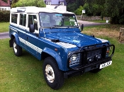 SOLD Defender 110 V8 County Station Wagon 5 door 1984