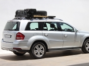 Mercedes Benz G Class GL Roof Rack, Full Cargo Rack Factory Rail