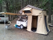 CVT Mt. Cayley Roof Top Tents