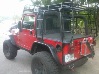 Expedition Ready Jeep CJ,YJ,TJ, Expedition Racks