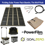 PowerFilm Goal Zero Wolf Pack Bundle