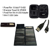 PowerFilm Solar F15-600-XP2KB Bundle