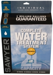 Sawyer 2L Complete Water Treatment System